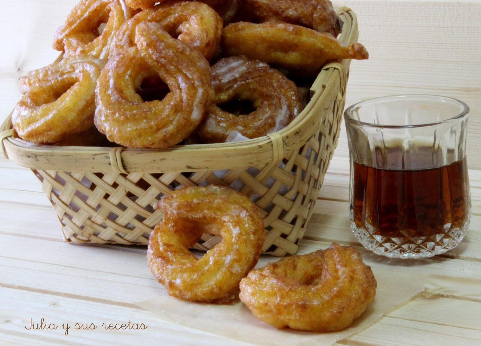 Rosquillas de San Froilán. Julia y sus recetas