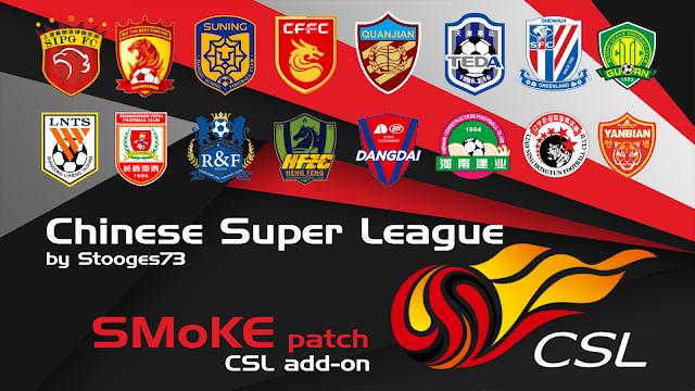 PES 2017 Chinese Super league Add On untuk Smoke Patch 9.3.2
