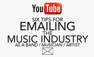 Tips for emailing the Music Industry
