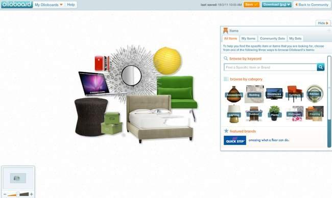Marzua olioboard aplicaci n para crear y compartir ambientes for Aplicacion para hacer muebles