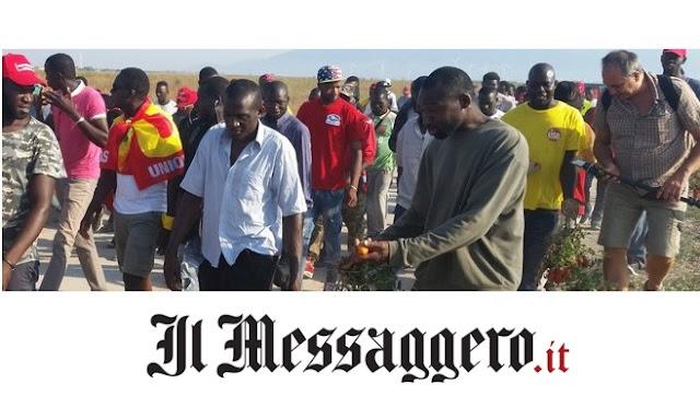 """«Il terremoto è colpa degli spiriti». Migranti di un centro accoglienza """"spinti"""" a fuggire e bloccare la strada"""