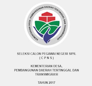 Penerimaan CPNS Terbaru Kementerian Desa, Pembangunan Daerah Tertinggal dan Transmigrasi