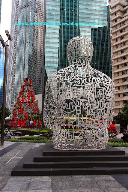 Singapore Soul by Juam Plensa, Raffles Place, Singapore