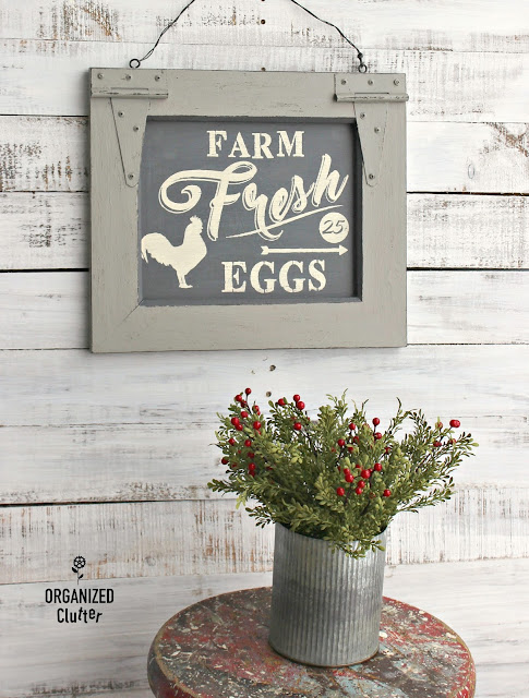 Thrift Shop Tavern Sign to Farmhouse Sign