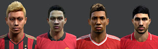 Faces 2016, Honda, Depay, Boateng, Emre Can, Pes 2013