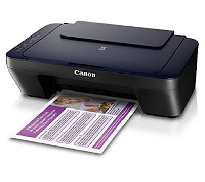 Colour WiFi Multifunction Inkjet Printer Canon PIXMA E460 Driver Downloads