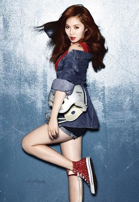 K-POP: Hyuna - Bubble ...