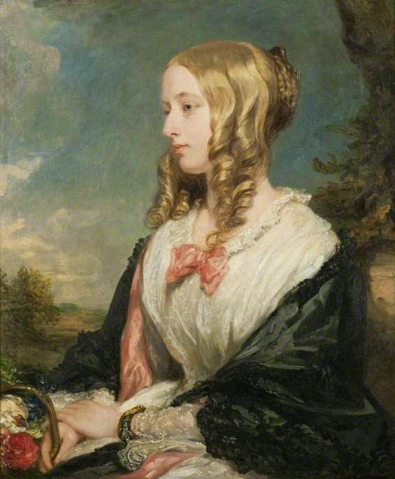 Mrs Charles Sabine Thellusson (1850), Margaret Sarah Carpenter