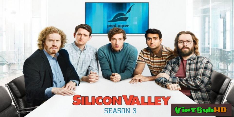 Phim Thung Lũng Silicon (phần 3) Hoàn Tất (10/10) VietSub HD | Silicon Valley (season 3) 2016
