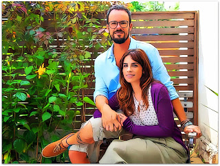 Como Nossos Pais - Dado (Paulo Vilhena) e Rosa (Maria Ribeiro)