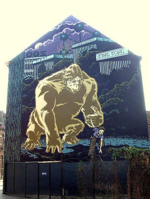 Mural Mezzo- El señor de las moscas