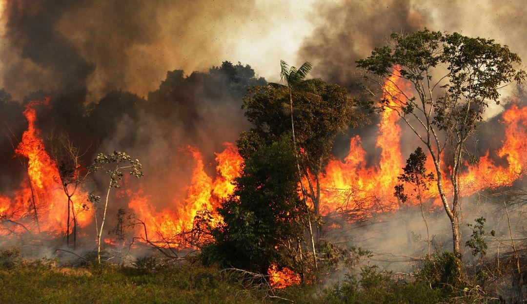 Bomberos tratan de controlar incendios forestales en cuatro municipios de Boyacá
