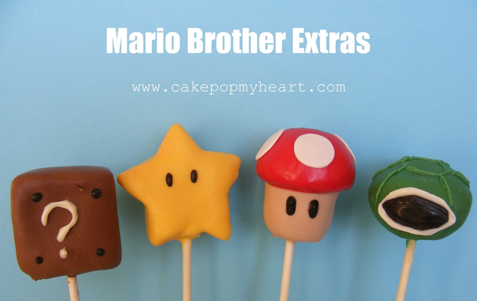 Mario Brothers Cake Pops