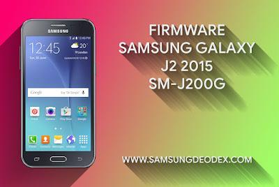 Samsung Firmware J200G J2 2015