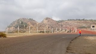 Many people live in the mountains outside Asmara