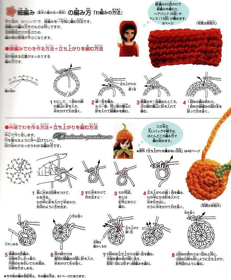 Вязание одежды для кукол. Журнал со схемами (7)