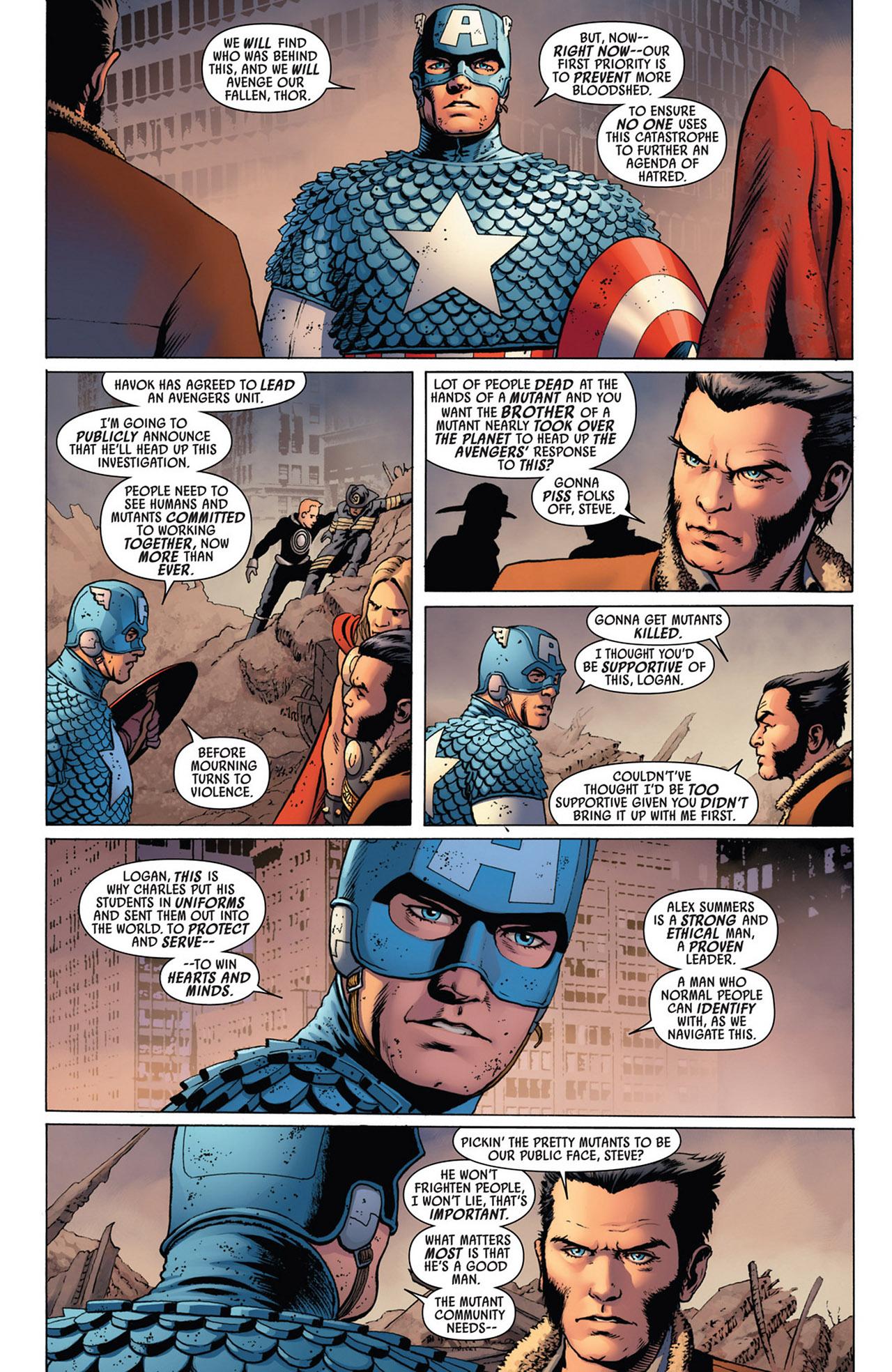 Read online Uncanny Avengers (2012) comic -  Issue #2 - 5