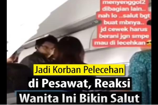 Terulang Kembali, Beredar Video Pelecehan S*k*al di Pesawat