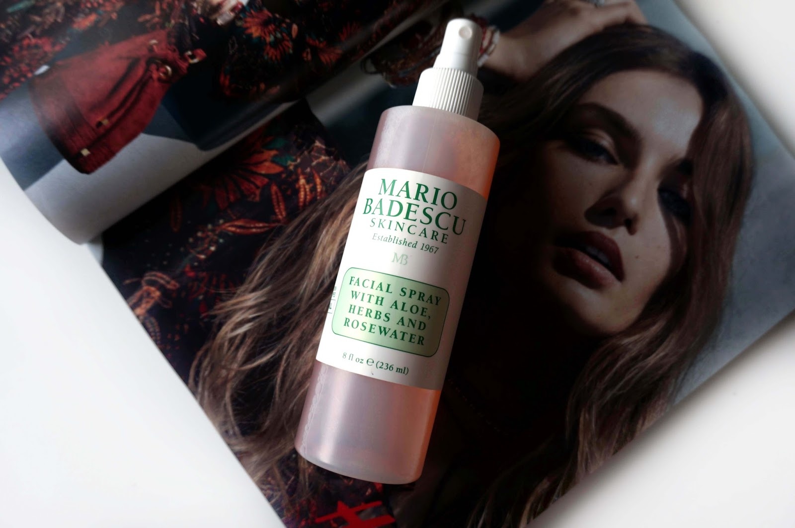 The Mario Badescu Facial Spray Is A Firm Favourite Of Mine Since It Is A  Spritz Of Hydration It Has A Lovely Rose's Scent And Can Be Used As A  Toner Too