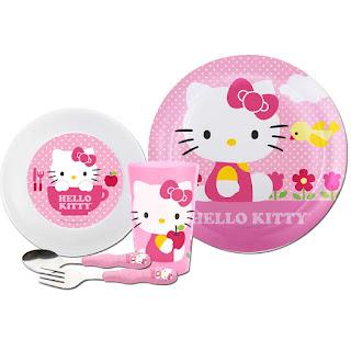 Gambar Piring Hello Kitty 4