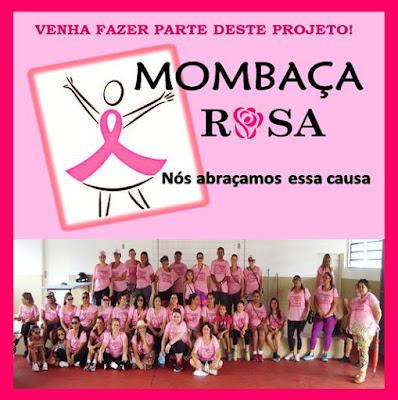 Resultado de imagem para outubro rosa em mombaça