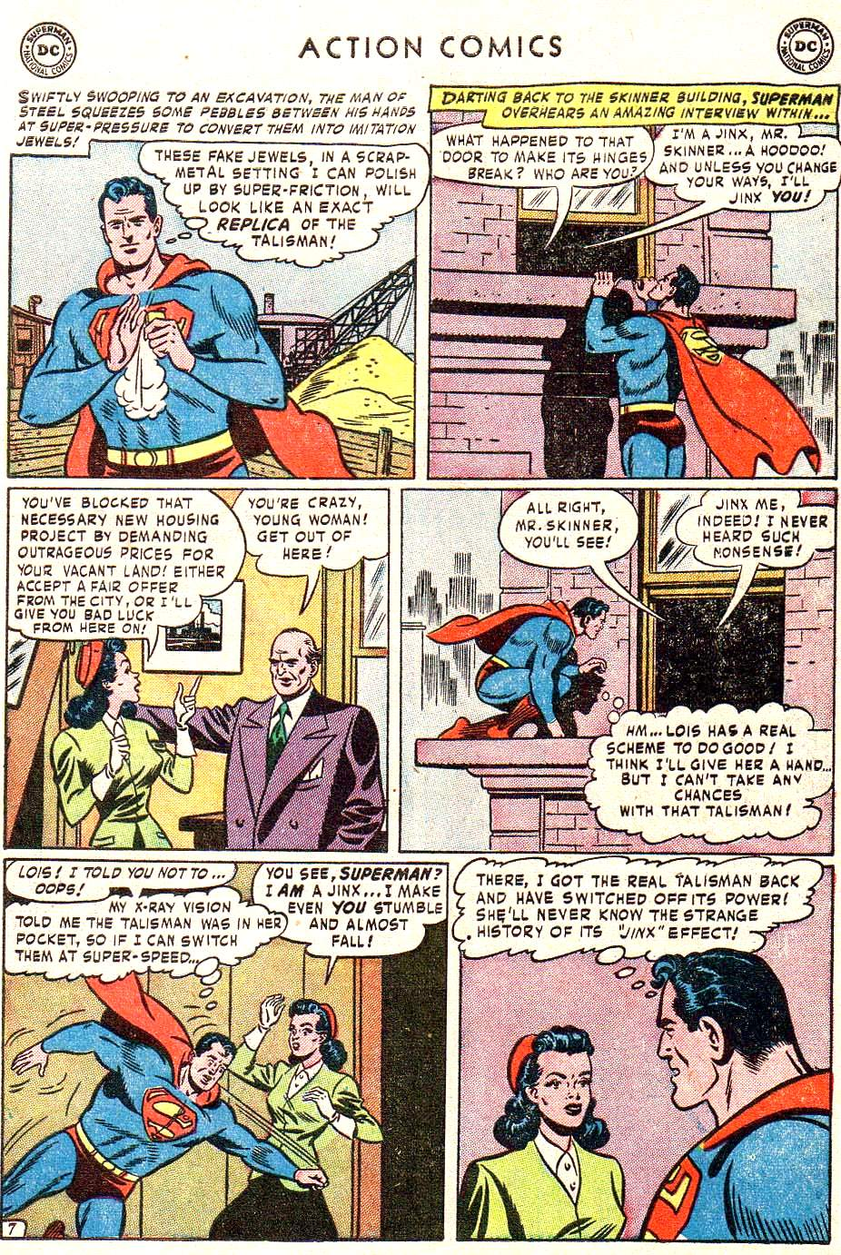 Read online Action Comics (1938) comic -  Issue #172 - 9