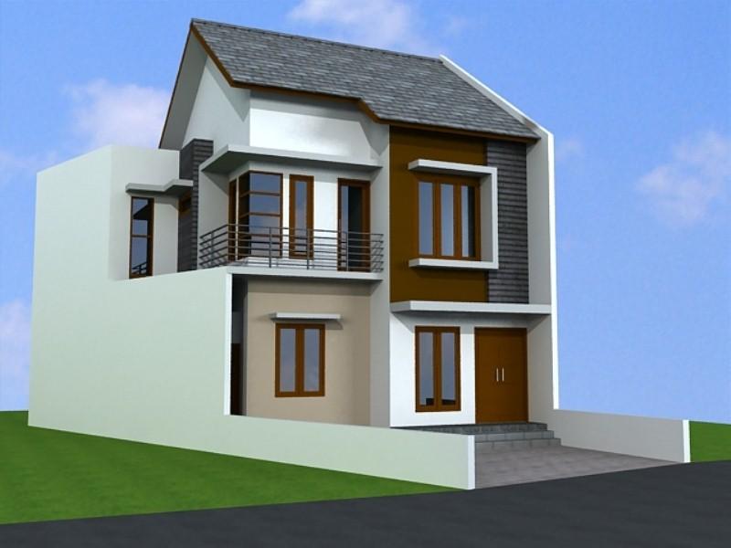 model rumah bertingkat minimalis 5