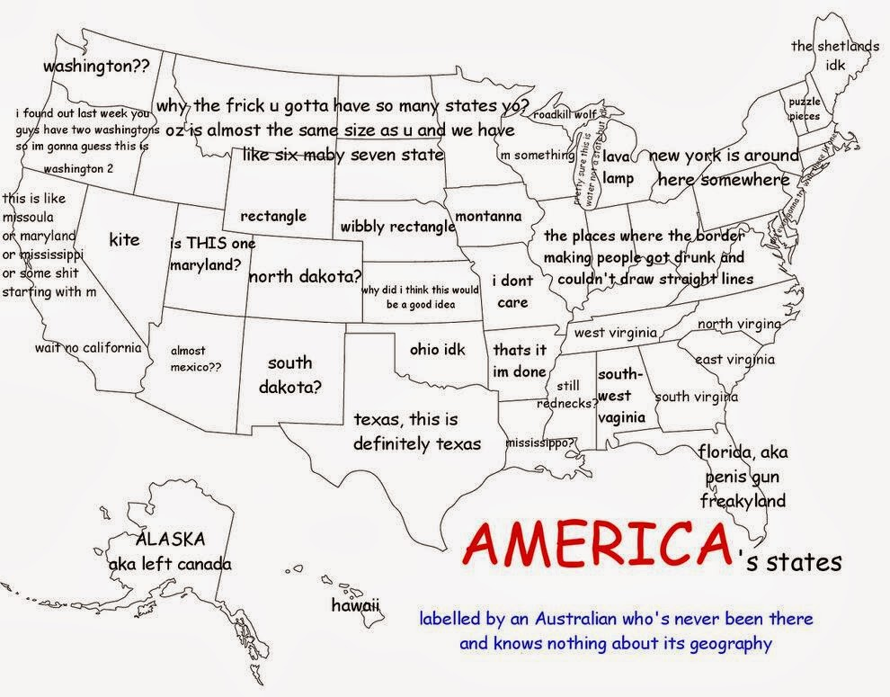 the randy report map of the united states as labeled by