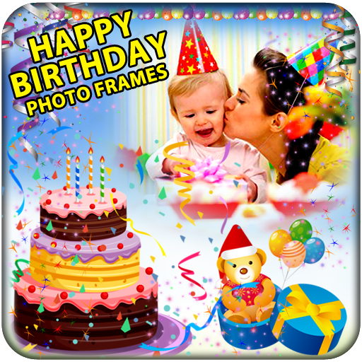 Happy Birthday Photo Frames App FREE Link Download.