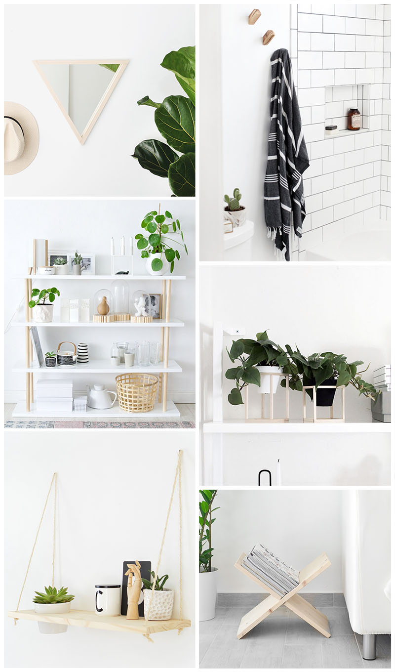 minimal DIY's, home decor ideas