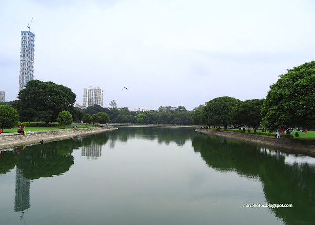 Victoria Memorial Pond, Kolkata
