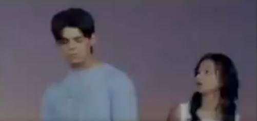 Kilig Scene of Angel Locsin and Richard Gutierrez in the Film 'The Promise'