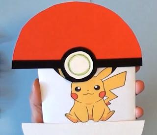 Pokemon Pikach kort