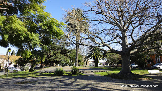 Plaza Mayor - Colonia del Sacramento, Uruguai