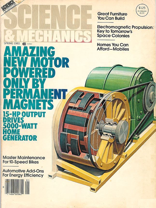 Perpetual Motion in the 21st Century: The Howard Johnson Magnet Motor