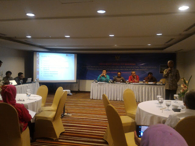Ciptakan Transparansi dan Akuntabilitas di Dunia Pertambangan, Kemenko RI Gelar FGD EITI
