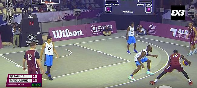 Manila vs. Qatar U18 (REPLAY VIDEO) 2016 FIBA 3x3 All Stars