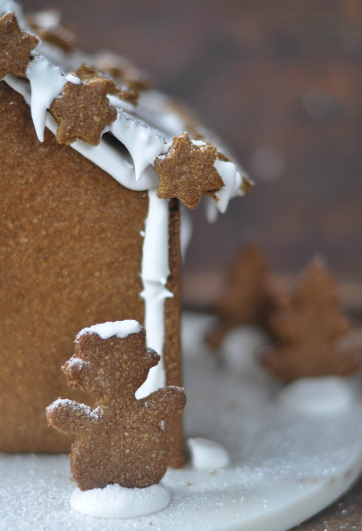traditional Gingerbread House, gluten free
