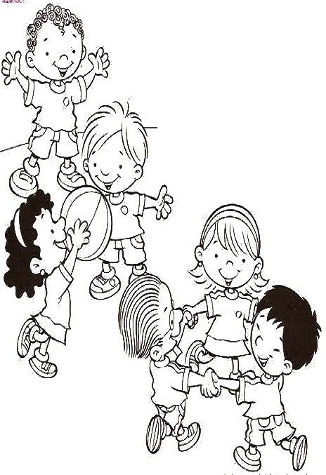 15 Brincadeiras De Criancas Para Imprimir E Colorir Mistura De