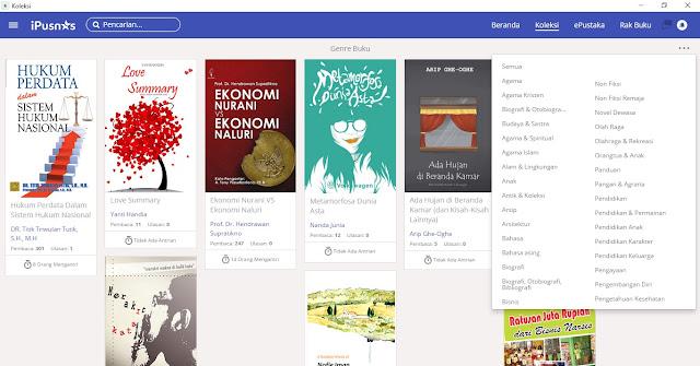iPusnas dan upaya peningkatan minat baca di indonesia
