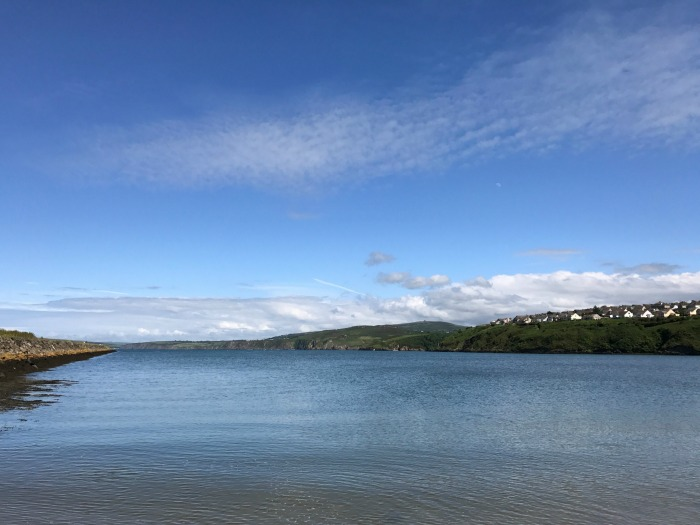 View from Goodwick beach