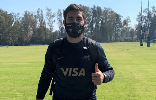 Jerónimo de la Fuente. Los Pumas volvieron a los entrenamientos