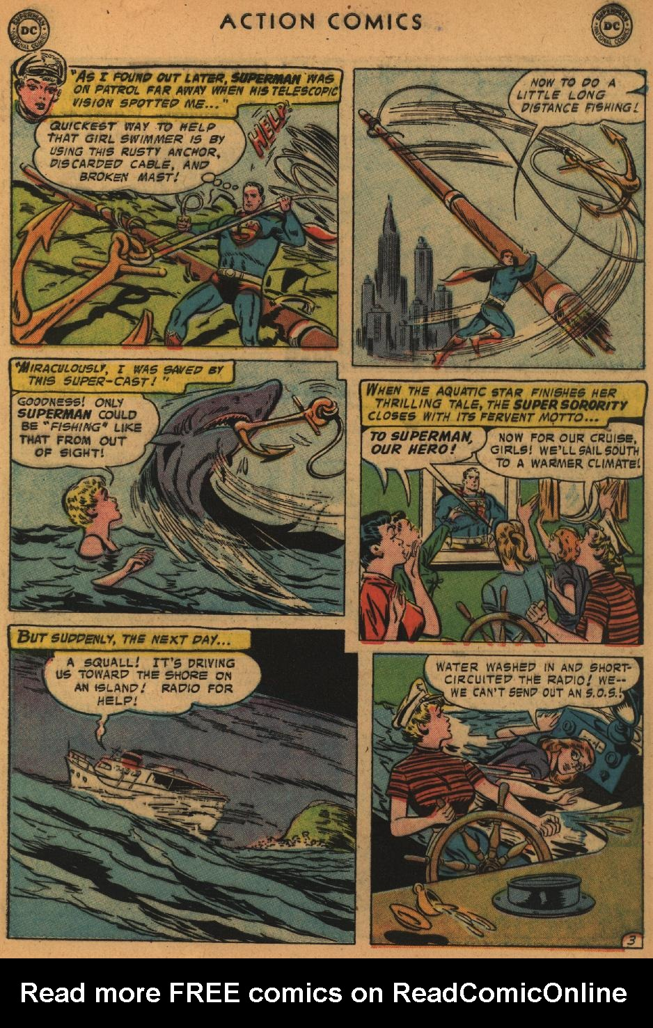 Read online Action Comics (1938) comic -  Issue #235 - 5