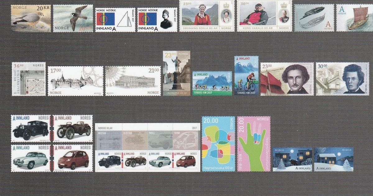 Stamps2U: Årets Frimerker 2017