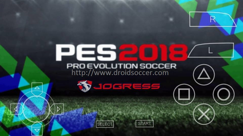 download game pes 2018 jogress v3 ppsspp android