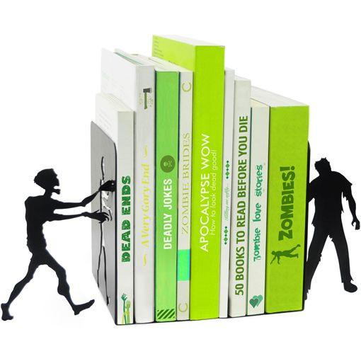 zombie bookends