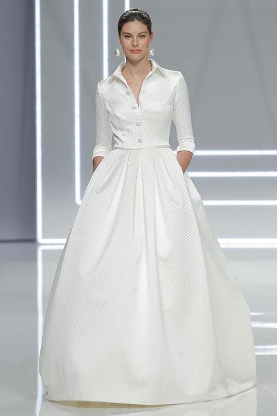 Vestido de novia Rosa Clará 2017