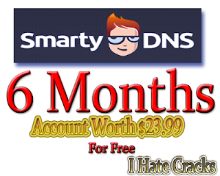 Get SmartyDNS 6 Months Account Worth $23.99 For Free