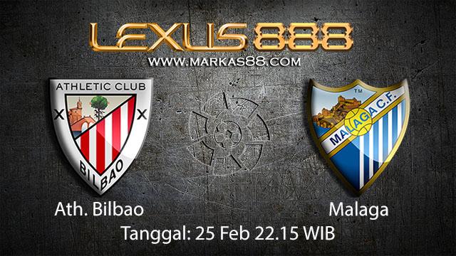PREDIKSIBOLA - PREDIKSI TARUHAN BOLA ATH. BILBAO VS MALAGA 25 FEBRUARI 2018 ( SPANISH LA LIGA )