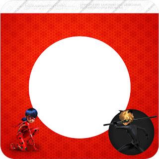 Banderines  de Prodigiosa Ladybug para imprimir gratis.
